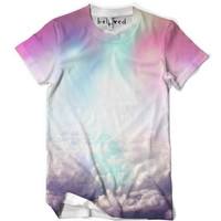 Neon Clouds Men's Tee - READY TO SHIP