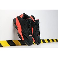 Clot X Air Jordan 13 Low Infra-bred At3102-006-1