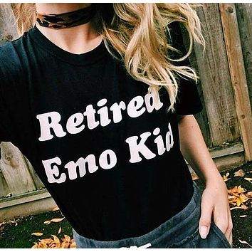 Retired Emo Kid Tee