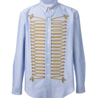 Indie Designs Palm angels Inspired Military Embroidery Shirt