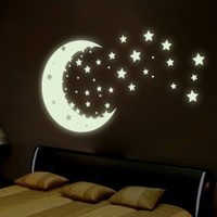 Glow In The Dark Wall Decal