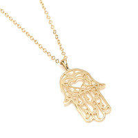 Gold Baby Sacred Love Necklace