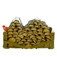 Department 56 Accessory VILLAGE WOODEN LOG PILE Christmas General Village 52665