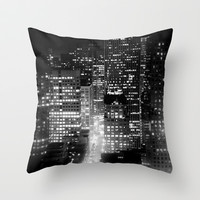san francisco Throw Pillow by Marianna Tankelevich