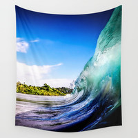 Wave Wall Wall Tapestry by Nicklas Gustafsson
