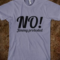 No Jimmy Protested - One Direction