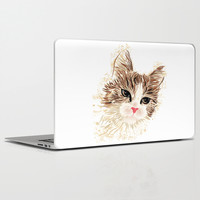 Cat Laptop & iPad Skin by MaNia Creations