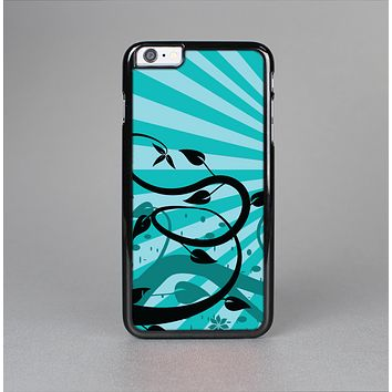 The Green Rays with Vines Skin-Sert for the Apple iPhone 6 Skin-Sert Case