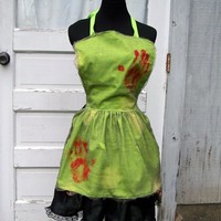 Zombie Apron Cosplay Walking Dead Ghoul Halloween