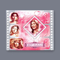 postage stamp for collection Antique vintage Stamp  M/S CINEMA Actress MADHUBALA. mnh INDIA 2008 world famous mint copy very rarely to find!
