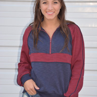 Ozark Valley Striped Pullover