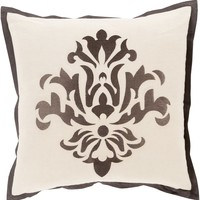 Cosette Throw Pillow Gray, Neutral