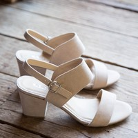 Spot On Sandal, Nude | CL by Laundry