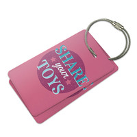 Share Your Toys Pink Luggage Tag Set