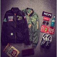 MA1 Bomber Flight jacket tour jackets limit edition young mens hip hop streetwear Warm winter coats