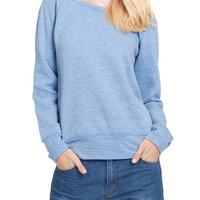 LE3NO PREMIUM Womens Oversized Wide Neck Off the Shoulder Sweatshirt