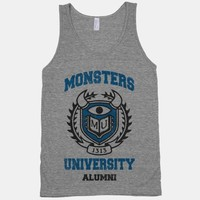 Monsters University Alumni (Vintage Tank)