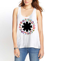 Red Hot Chili Peppers Womens Tank Top *