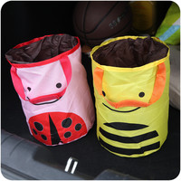 Cute Portable Multifunction Lovely Storage Cars Creative Storage Basket = 4877783684
