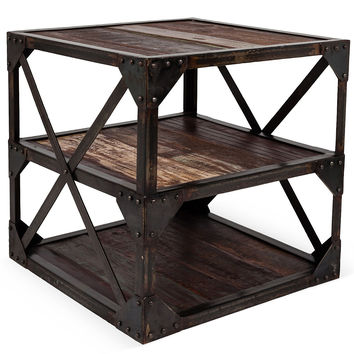 One Kings Lane - Furniture for All - Metro Plank End Table