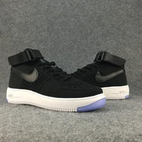 Women's and men's nike air force FLYKNIT cheap nike shoes a116