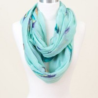 In Fine Feather Infinity Scarf