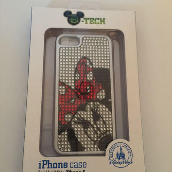 disney parks minnie mouse dotty sparkle iPhone 5/5s case new in box