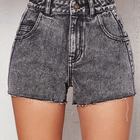 PacSun Nicole Wash Denim Mom Shorts at PacSun.com
