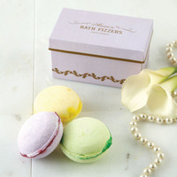 NEW Macaron Bath Fizzers in Gift Box