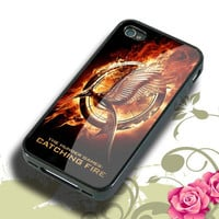 the hunger games catching fire Hard plastic,Rubber iphone 4/4s,5/5s,5c,Samsung S3 i9300,S4 i9500