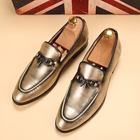 new silver gold spike men loafers shoes luxury brand trendy flat footwear 2017 studded male patent leather oxford shoes for men