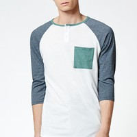 Ryan Raglan 3/4 Sleeve T-Shirt