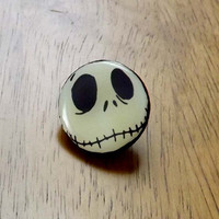 Nightmare Before Christmas Jack Skellington Tie Tack Clutch Pin