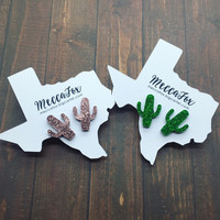 MeccaFox Cactus Stud Earrings