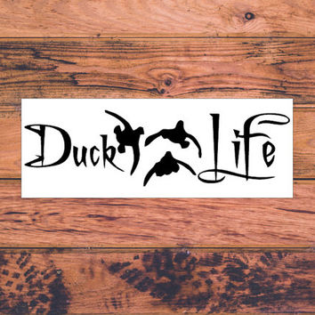Duck Lift | Duck Hunter | Southern Hunting | Country Hunting | Duck Deer Hunting | Girl Hunter | Country Sassy Hunter | Duck Decal | 269