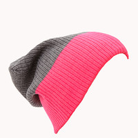 Classic Colorblocked Beanie   FOREVER 21 - 2000111455