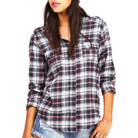 Sugar Plaid Top