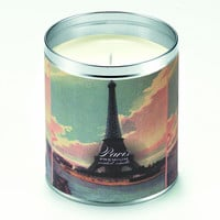 Paris Eiffel Tower Candle