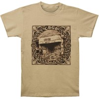 CBGB Men's  Underground T-shirt Heather Khaki