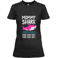 Mommy Shark  Doo Doo Daddy Baby Grandma Video  Ladies Custom