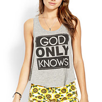 God Only Knows Tank