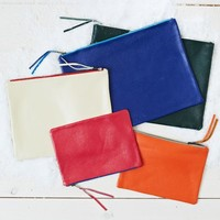 Leather Zipper Cases