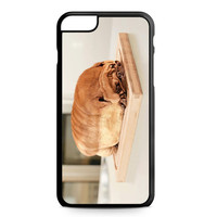 Pug Loaf of Bread Cute Funny iPhone 6 Plus Case