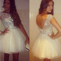 Tulle Homecoming Dresses Sweet 16 Dress