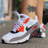 NIKE Air Max 90 Fashion Women Men Casual Running Sneakers Sport Shoes
