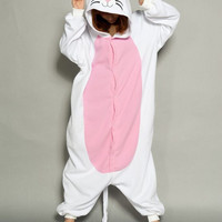 NEW Adult Pajamas Cat Cosplay Cartoon Animal Suits Cosplay Outfit Halloween Costume Adult Garment Cartoon Jumpsuits Unisex Animal Sleepwear