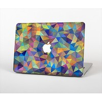 """The Colorful Vibrant Triangle Connect Pattern Skin Set for the Apple MacBook Air 11"""""""