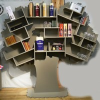 Open freestanding kids bookcase TESS ARBRES Collection by Mathy by Bols | design Christophe Boulin
