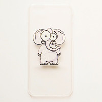 iPhone 6 Case Cover Funny Elephant iPhone 6 Hard Case  Back Cover For iPhone 6 Slim Design Case