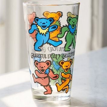 Grateful Dead Pint Glass | Urban Outfitters